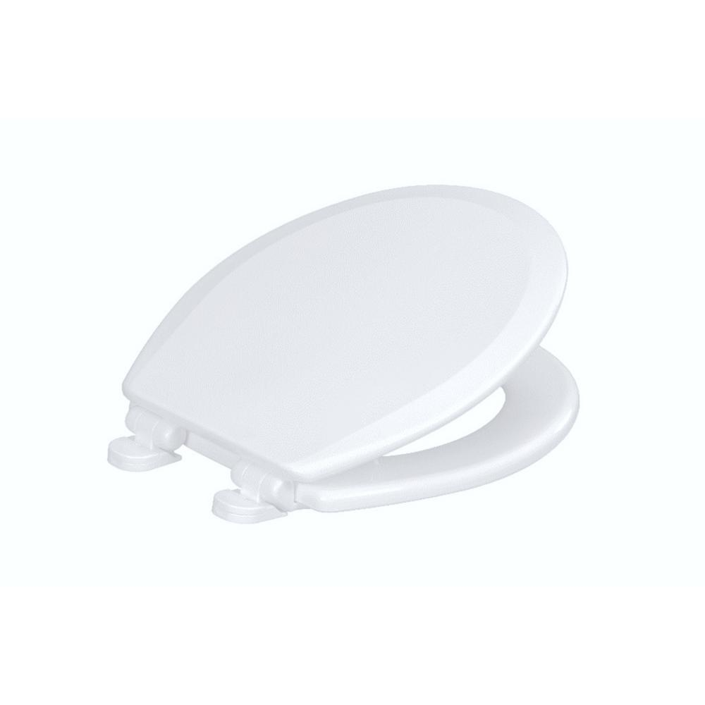 Centocore Round Closed Front Toilet Seat with Safety Close in Crane White, Crane White (Bright/Cotton) Centocore Round Closed Front Toilet Seat with Safety Close in Crane White, Crane White (Bright/Cotton).