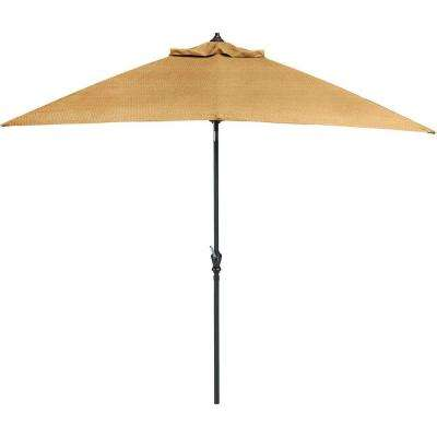 Brigantine 9 ft. Outdoor Patio Umbrella in Harvest Wheat