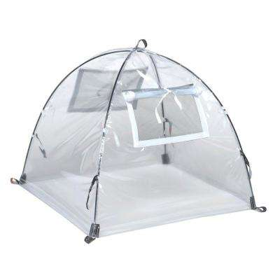 22 in. Greenhouse Pop-Open Framed Clear PVC Cover