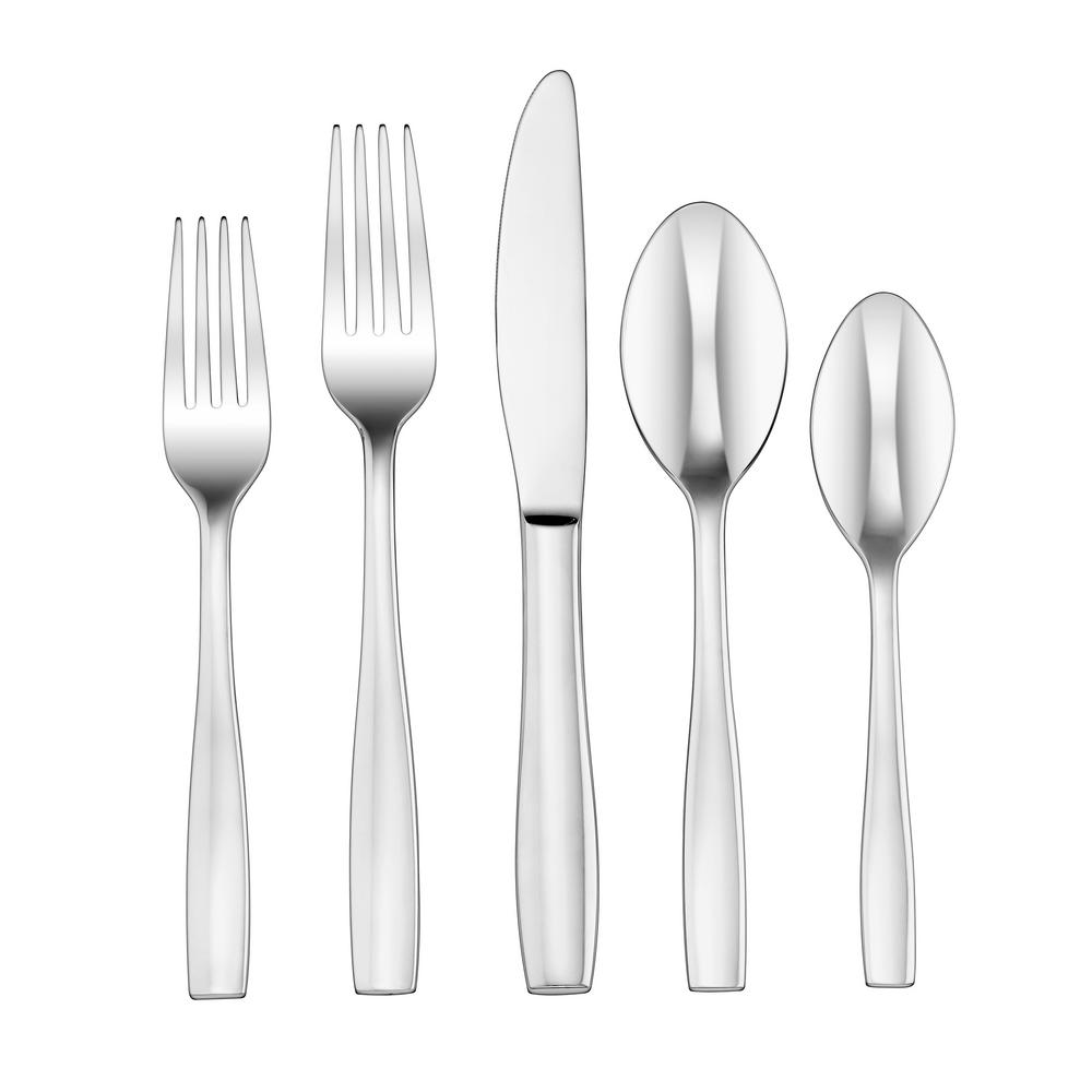 Elite 20-Piece Sienna Flatware Set