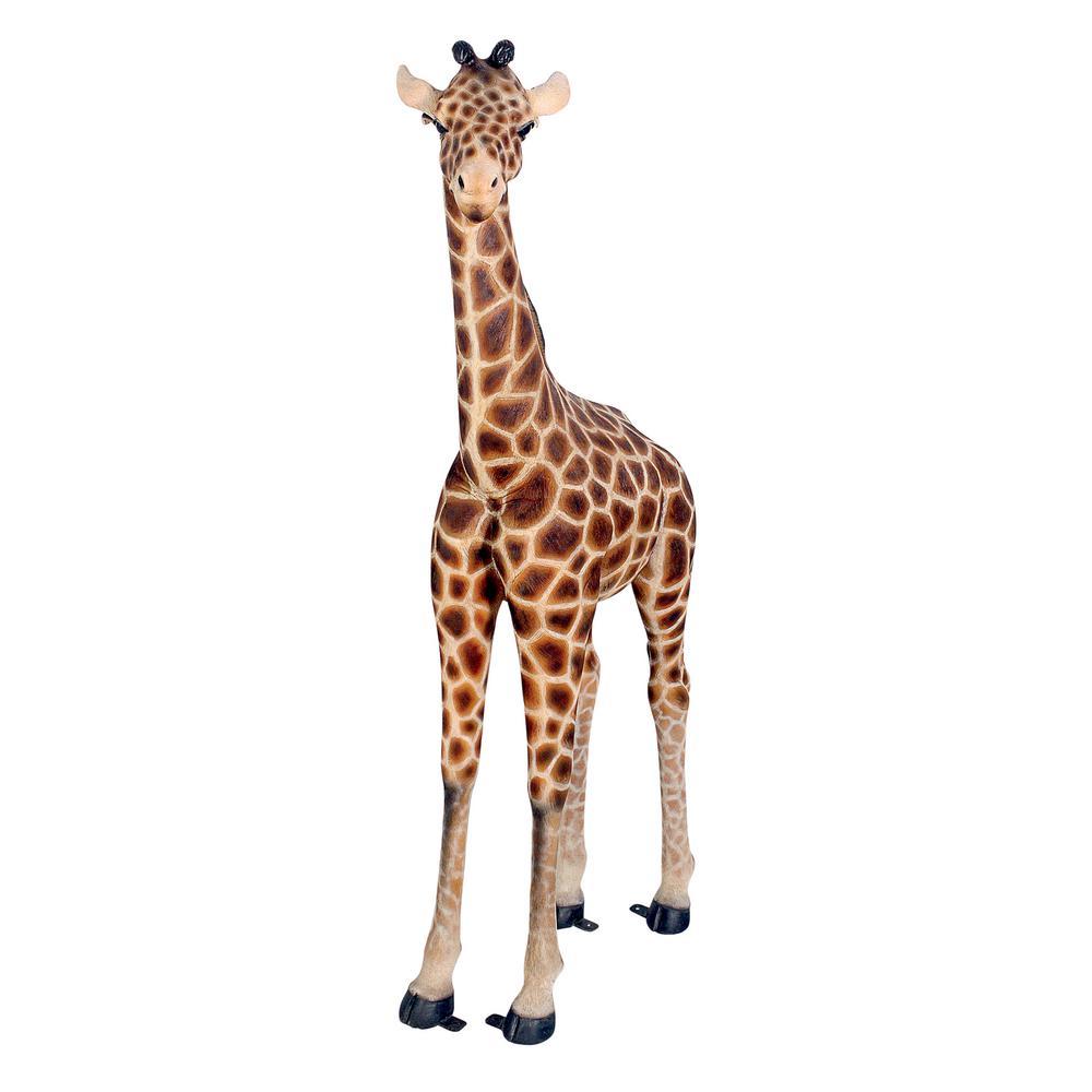 68.5 in. H Baako Baby Giraffe Grand Scale Garden Statue
