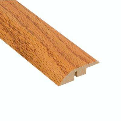 Honey Oak 7/16 in. Thick x 1-13/16 in. Wide x 94 in. Length Laminate Hard Surface Reducer Molding