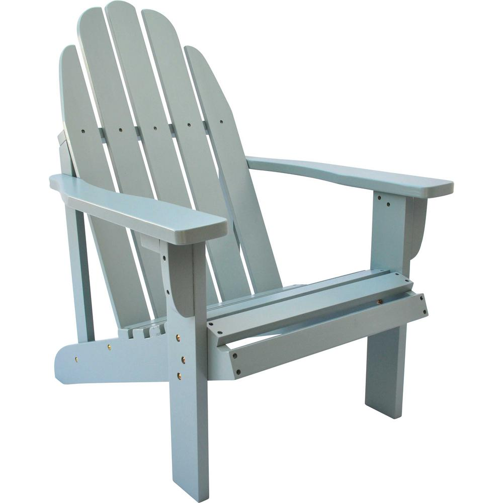 Delicieux Catalina Cedar Wood Adirondack Chair   Dutch Blue