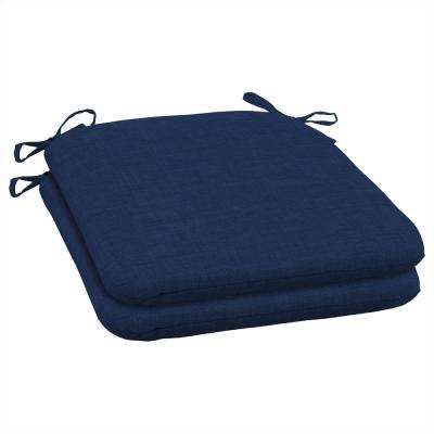 Sapphire Leala Texture Outdoor Seat Cushion (Pack of 2)