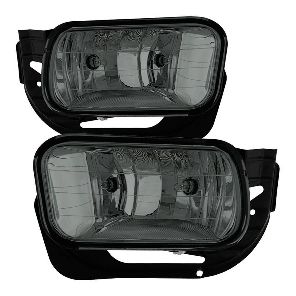 Dodge Ram 09 12 1500 10 2500 3500 Oem Fog Light Come With Metal Bracket No Switch Smoked