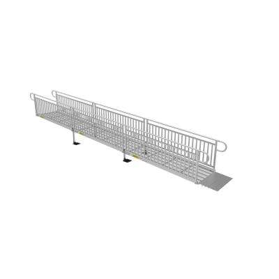 24 ft. Expanded Metal Ramp Kit with Vertical Pickets