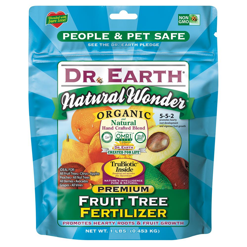 1 lb. 15 sq. ft. Natural Wonder Fruit Tree Fertilizer