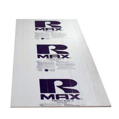 Rmax R-Matte Plus-3, 1/2 in. x 4 ft. x 8 ft. R-3.2 Polyisocyanurate Rigid Foam Insulation Board
