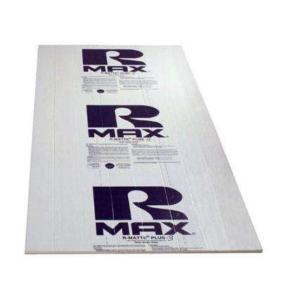 Rmax R-Matte Plus-3 1/2 in. x 4 ft. x 8 ft. R-3.2 Polyisocyanurate Rigid Foam Insulation Board