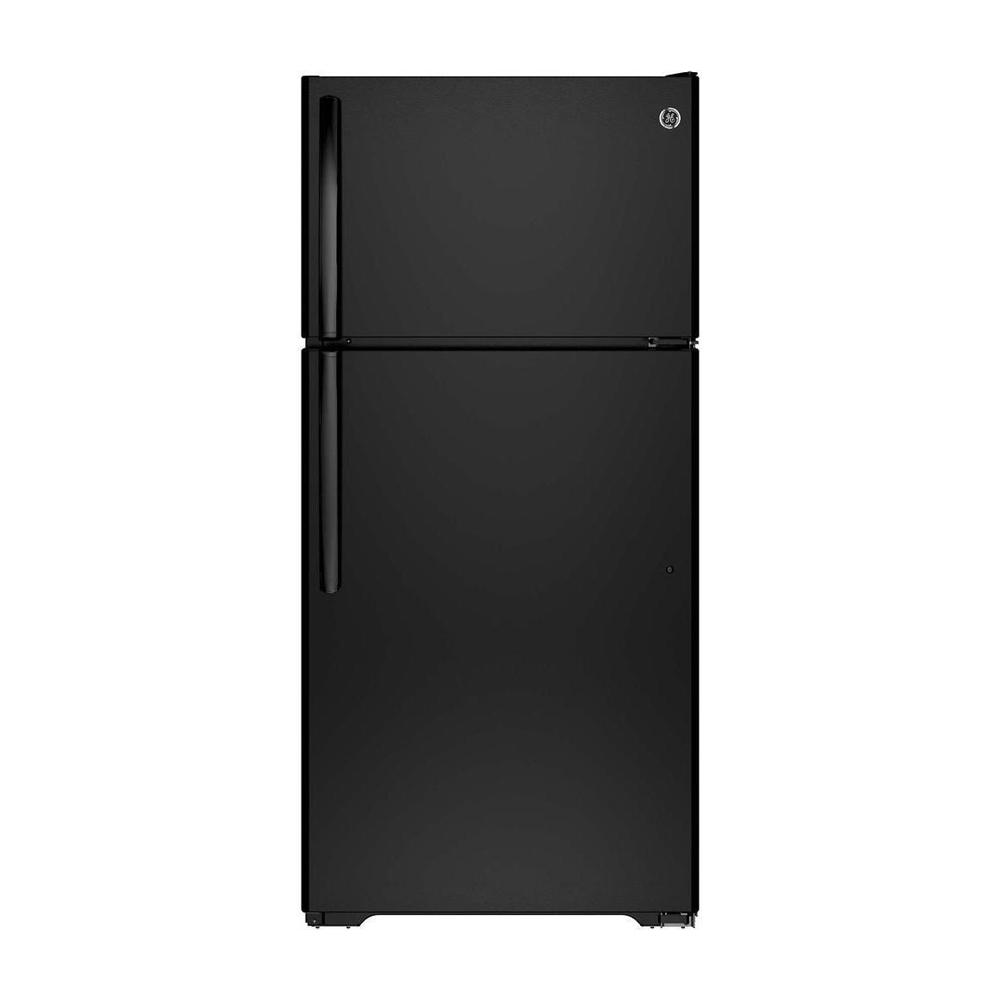14.6 cu. ft. Top Freezer Refrigerator in Black