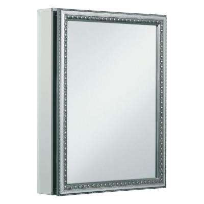 20 in. x 26 in. Recessed or Surface Mount Medicine Cabinet