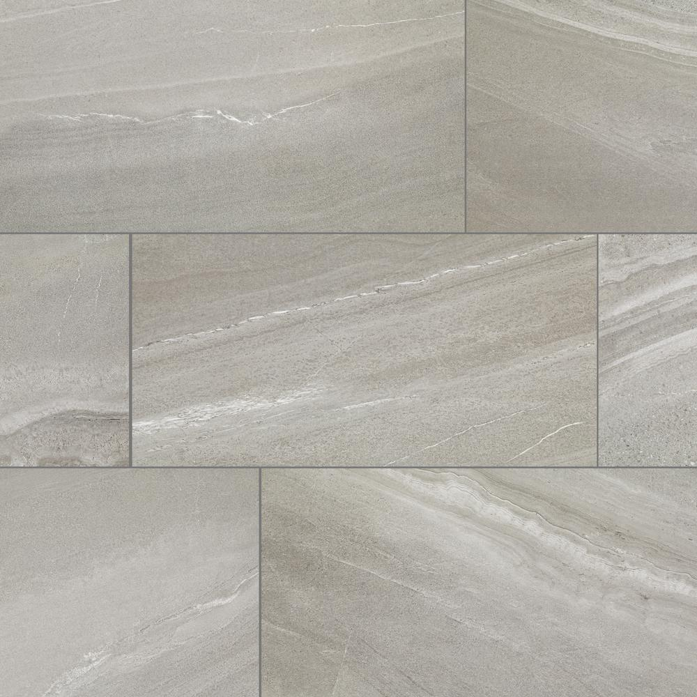 Florida Tile Home Collection Aspen Granite Rectified 12 in. x 24 in. Porcelain Floor and Wall Tile (425.6 sq. ft. / pallet)