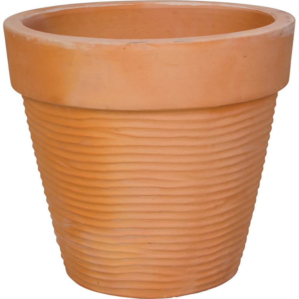 12.5 In. Clay Standard Garden Pot-AT-1036B