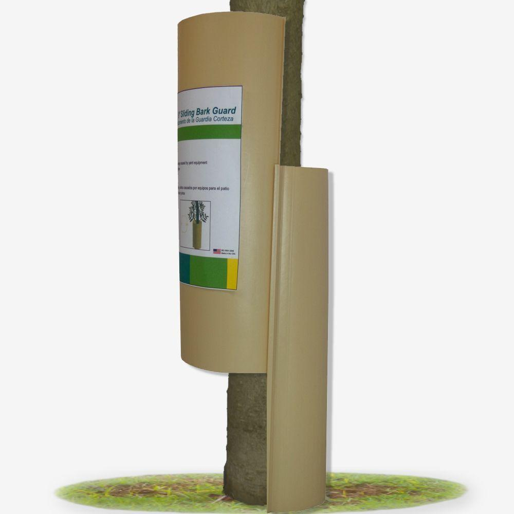 Casa Verde Tree Guardian 9 in. Sliding Bark Protector, 3-Pack (6 Sleeves)