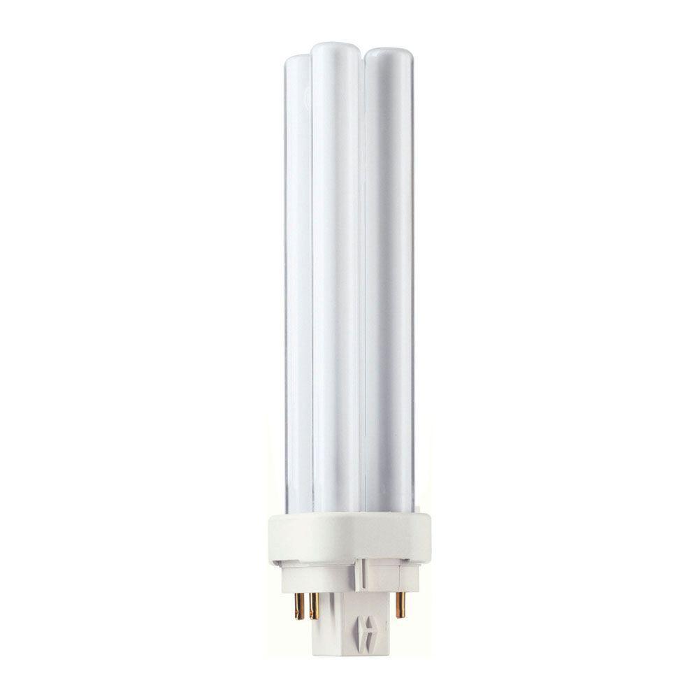 Fluorescent Shop Light Repair: Commercial Electric 18-Watt 4 Pin PL Soft White Linear