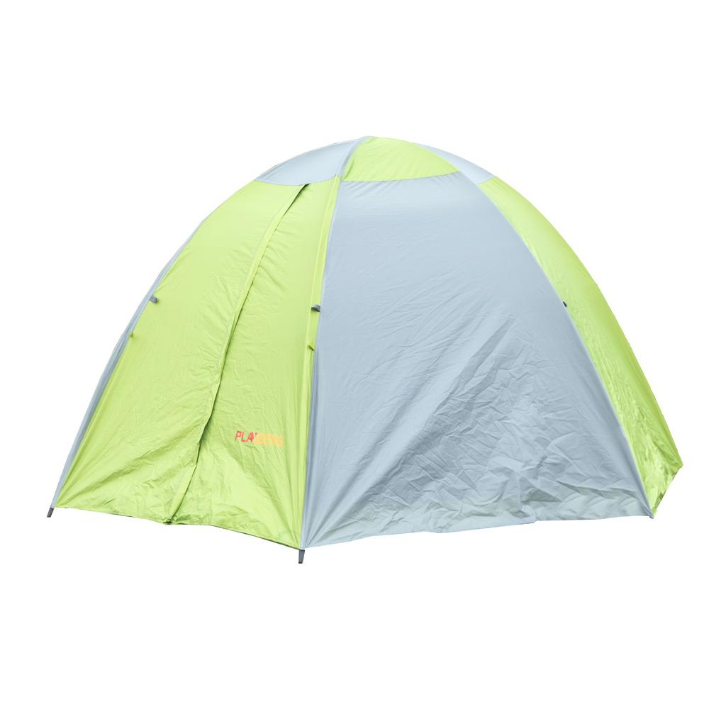 PLAYBERG Camping Folding Tent with Screen Exterior ...