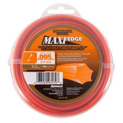 00.095 in. x 40 ft. Maxi Edge Commercial Trimmer Line
