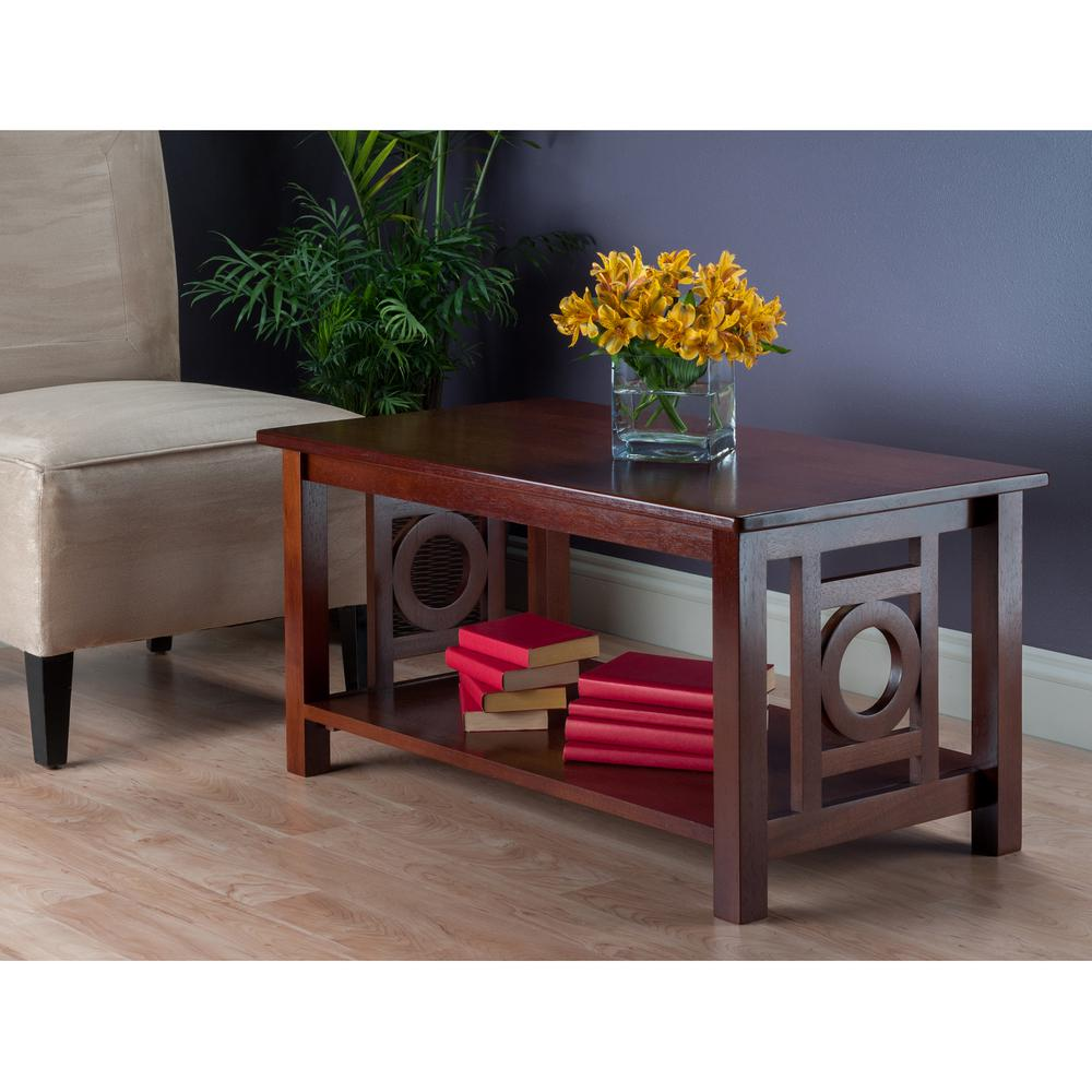 Winsome Wood Ollie Walnut Coffee Table