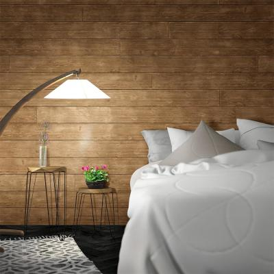 1 in. x 8 in. x 6 ft. Barn Wood Light Brown Shiplap Pine Board (6-Pack)