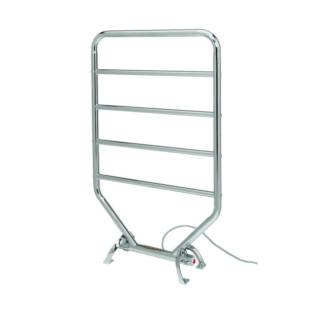 Warmrails Traditional 34 in. Towel Warmer in Chrome