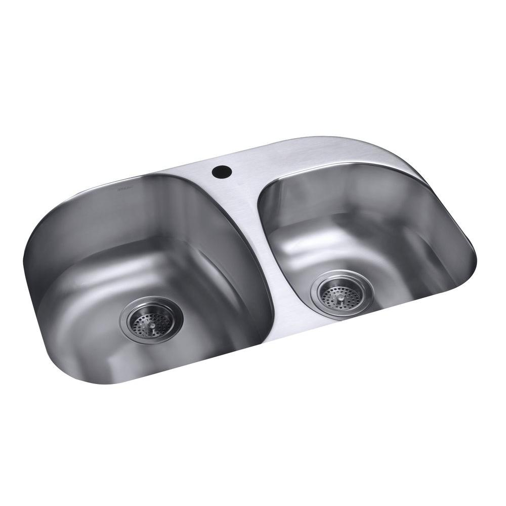 STERLING Cinch Self-Rimming Offset Bathroom Sink