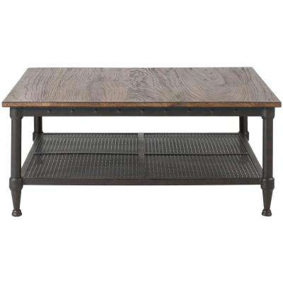 Gentry Distressed Oak Coffee Table