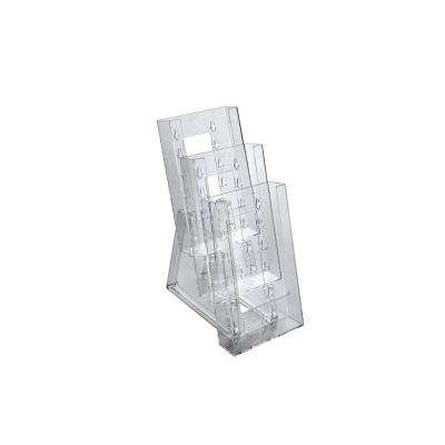 3-Tier Trifold Counter Brochure Holder