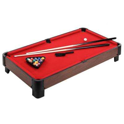 Striker 40 in. Table Top Pool Table