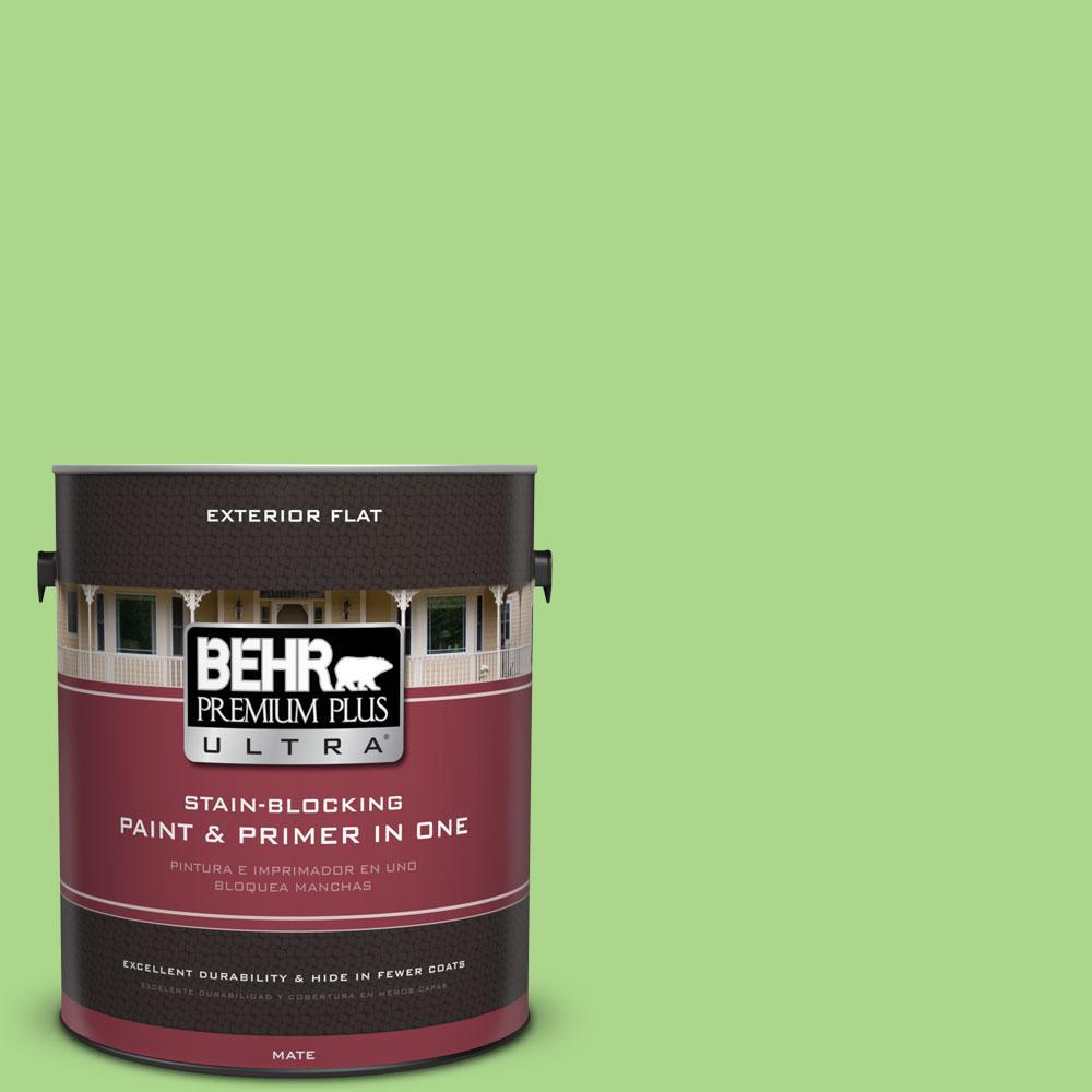 1-gal. #430B-4 Peas in a Pod Flat Exterior Paint