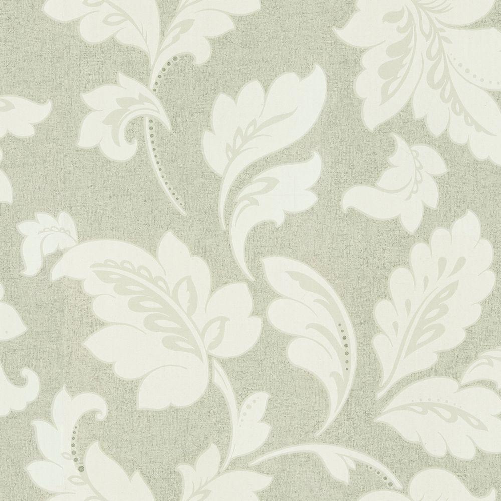 The Wallpaper Company 56 sq. ft. Kynzo Fleurette Wallpaper