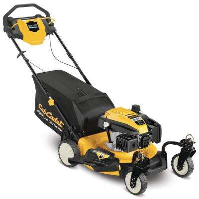 21 in. 159cc Rear-Wheel Drive 3-in-1 Gas Self Propelled Lawn Walk Behind Mower with Caster Wheels