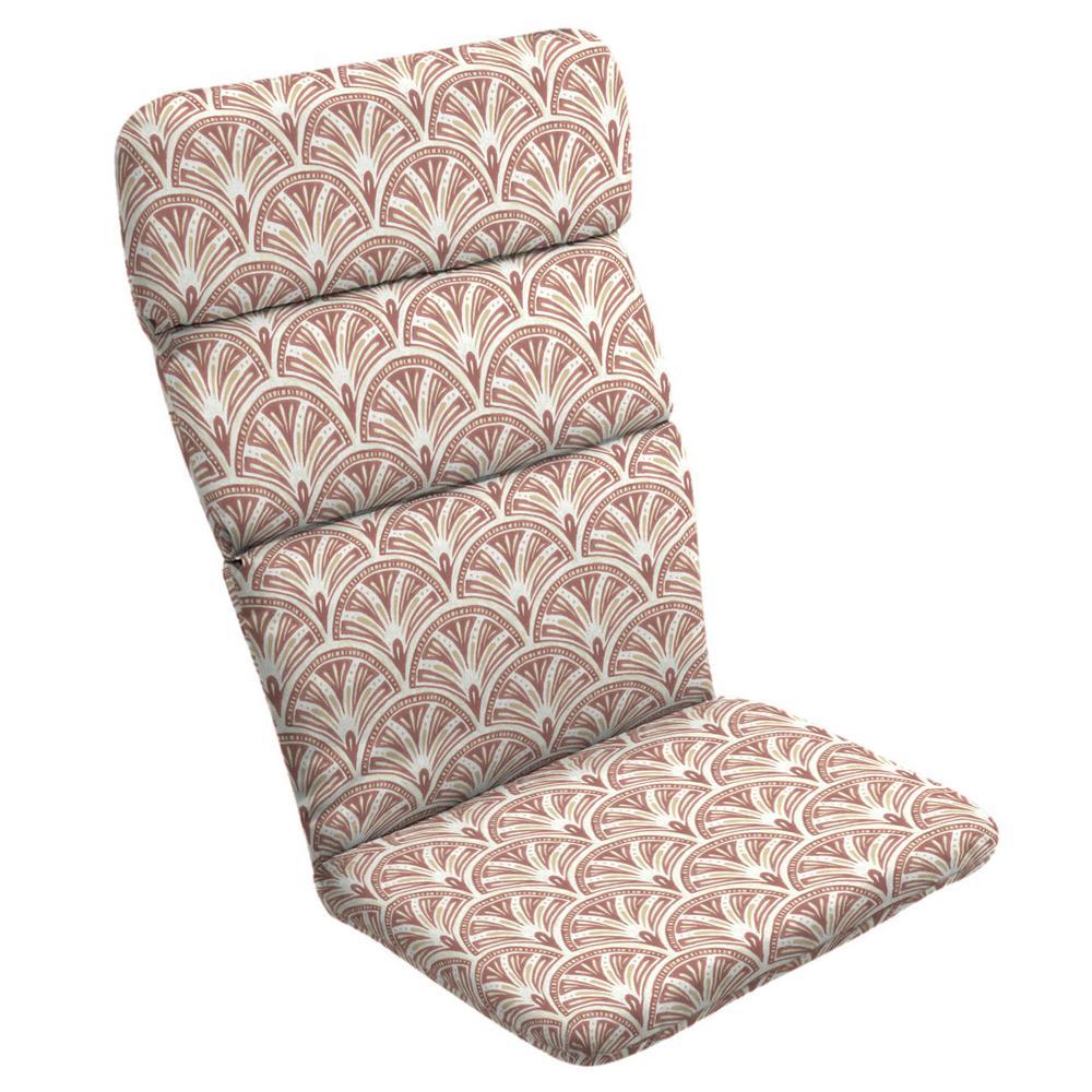 Artisans 45.5 x 20 Gatsby Deco Geo Outdoor Adirondack Chair Cushion