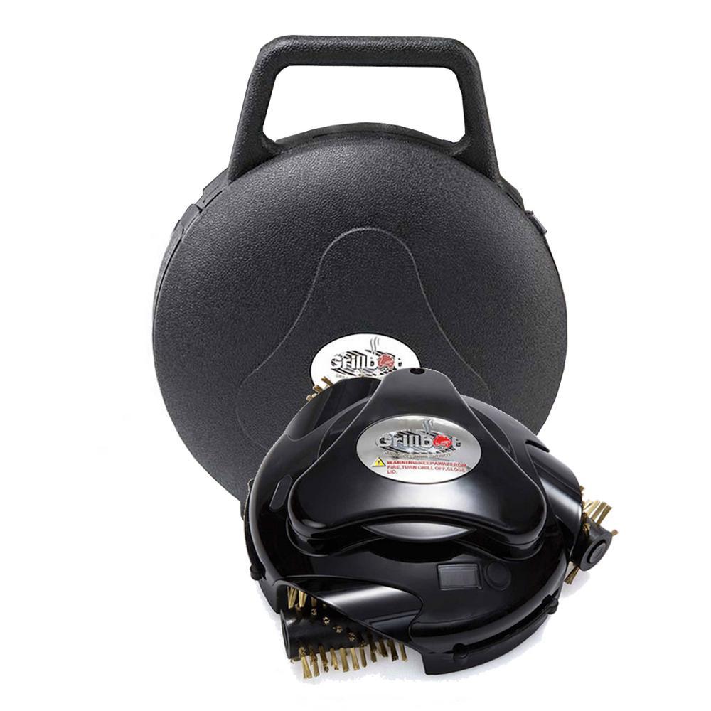 Grillbot Black Grillbot with Carry Case Bundle