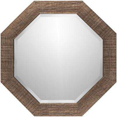 Minja 24 in. x 24 in. Polystyrene Framed Mirror