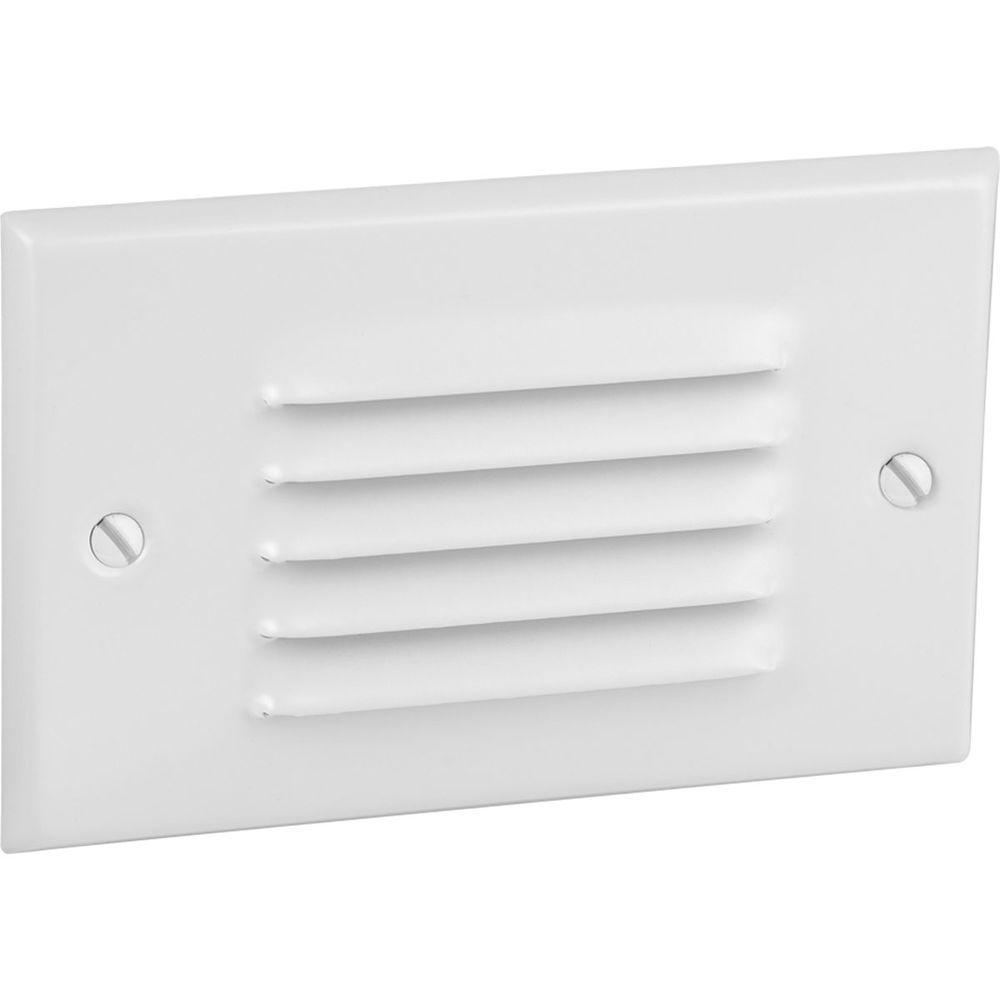 Progress Lighting 1-Light White LED Step Light/Wall Light