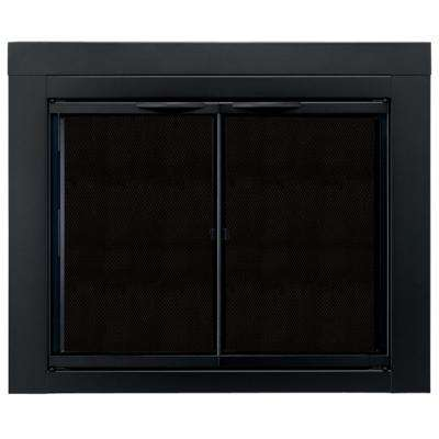 Alpine Large Glass Fireplace Doors