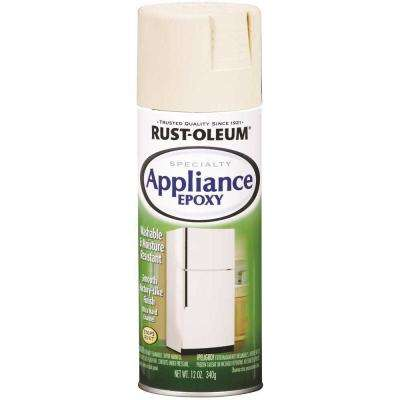 12 oz. Appliance Epoxy Gloss Biscuit Spray Paint (6 per Pack)