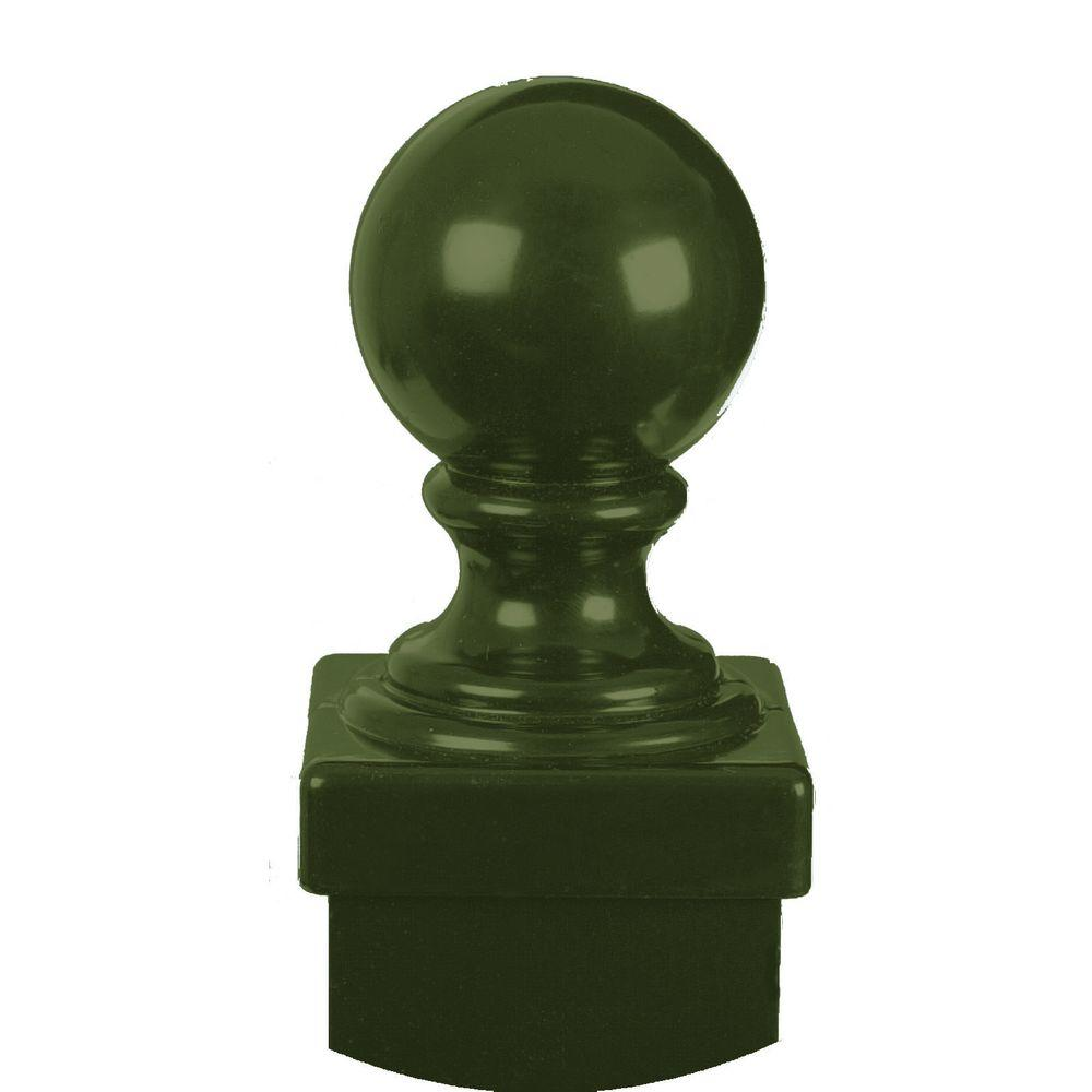 Allure Aluminum Bronze Fence Post Ball Cap Accessory