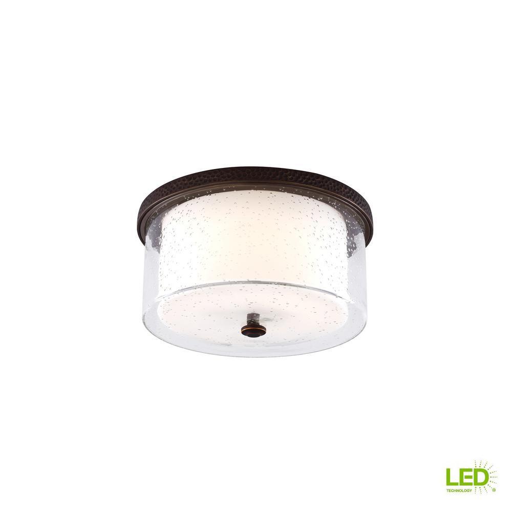 Artizan Roman Bronze LED Ceiling Fan Light Kit