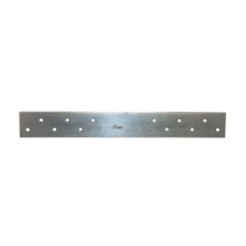 1-1/2 in. x 32 in. 18-Gauge 6 Holes FHA Nail Plate