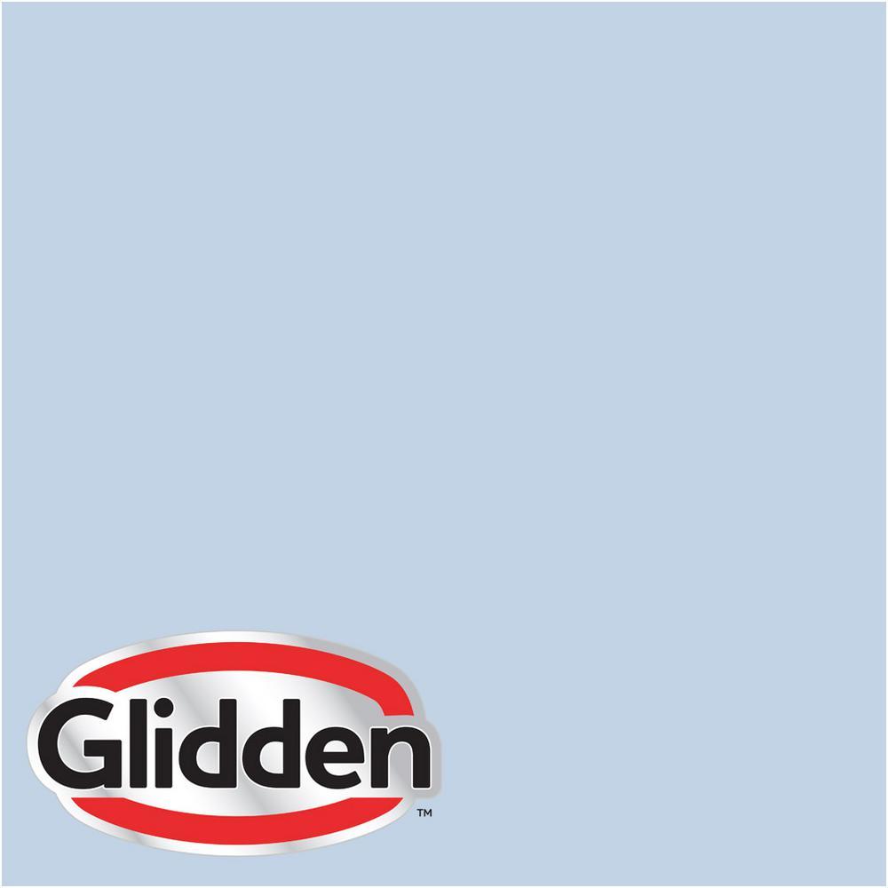 Glidden Premium 1 Gal Hdgv19u Quiet Blue Eggshell Interior Paint With Primer Hdgv19up 01en The Home Depot