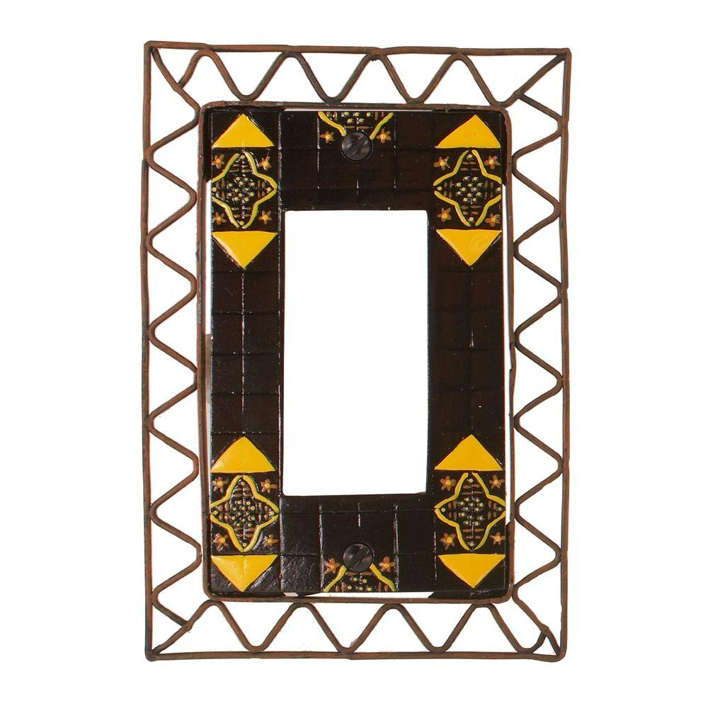 Amerelle Seville 1 Decora Wall Plate - Yellow