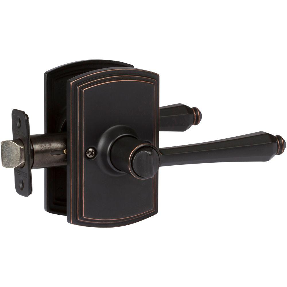 Italian Collection Florini Edged Bronze Bed and Bath Lever