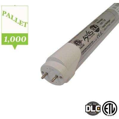 4 ft. T8 16-Watt Cool White LED Tube Light Bulb (Pallet of 1000 Bulbs)