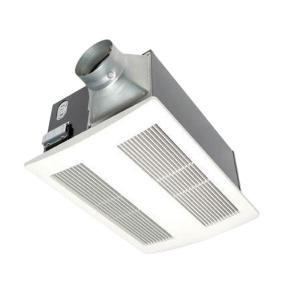 Panasonic WhisperWarm 110 CFM Ceiling Exhaust Bath Fan with Heater by Panasonic