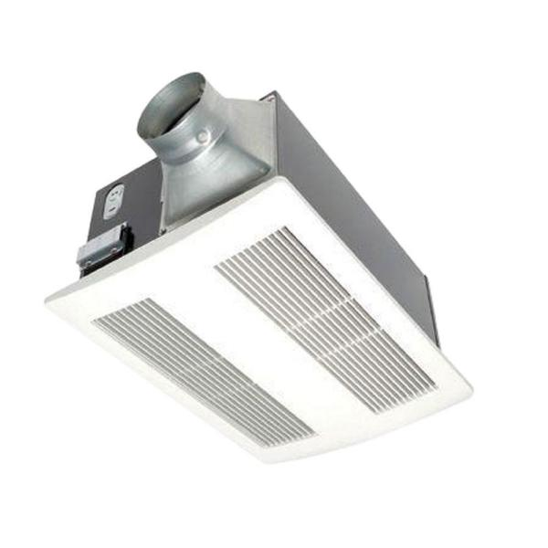 WhisperWarm 110 CFM Ceiling Exhaust Bath Fan with Heater, Quiet, Energy Efficient and Easy to Install