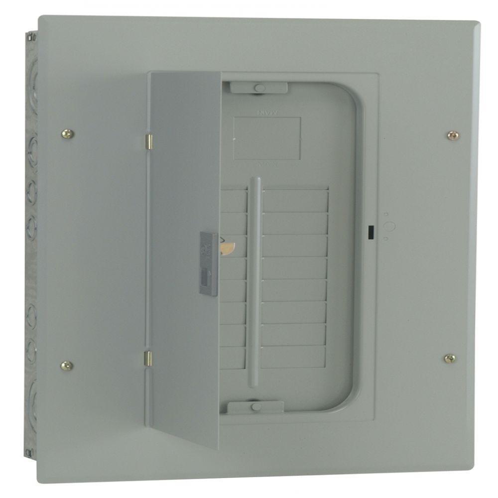 GE PowerMark Gold 200 Amp 16-Space 32-Circuit Indoor Main Lug Circuit Breaker Panel
