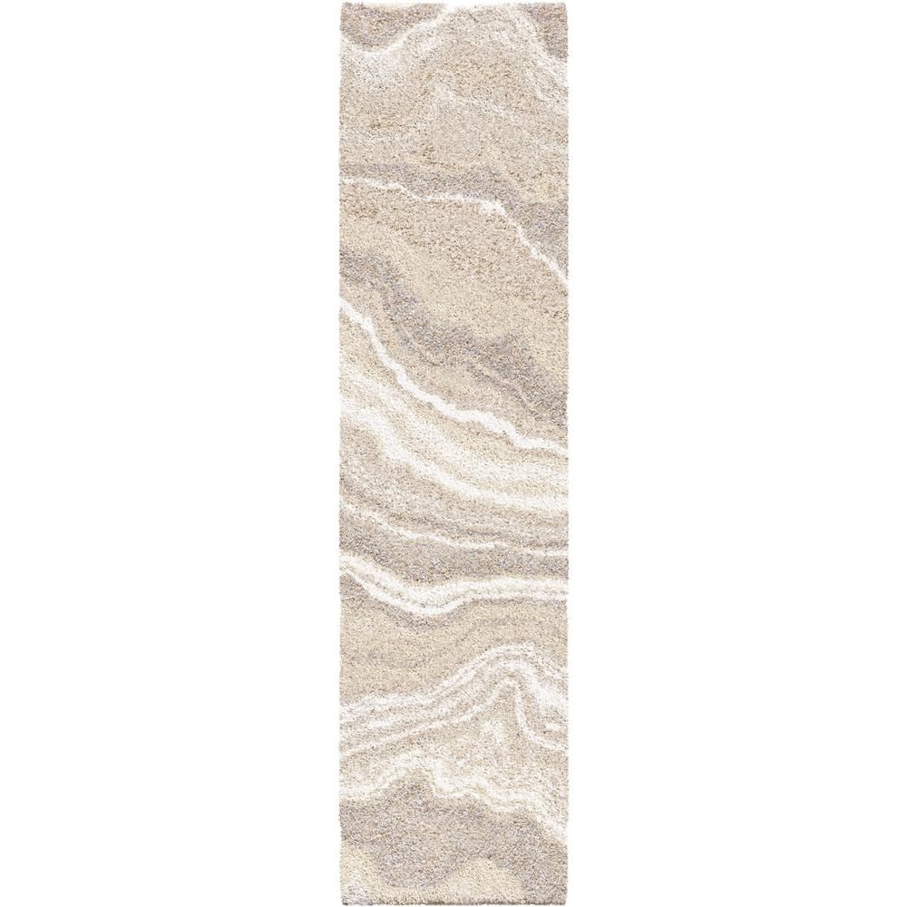 Orian Rugs Cascade Ivory 2 ft. x 8 ft. Runner Rug