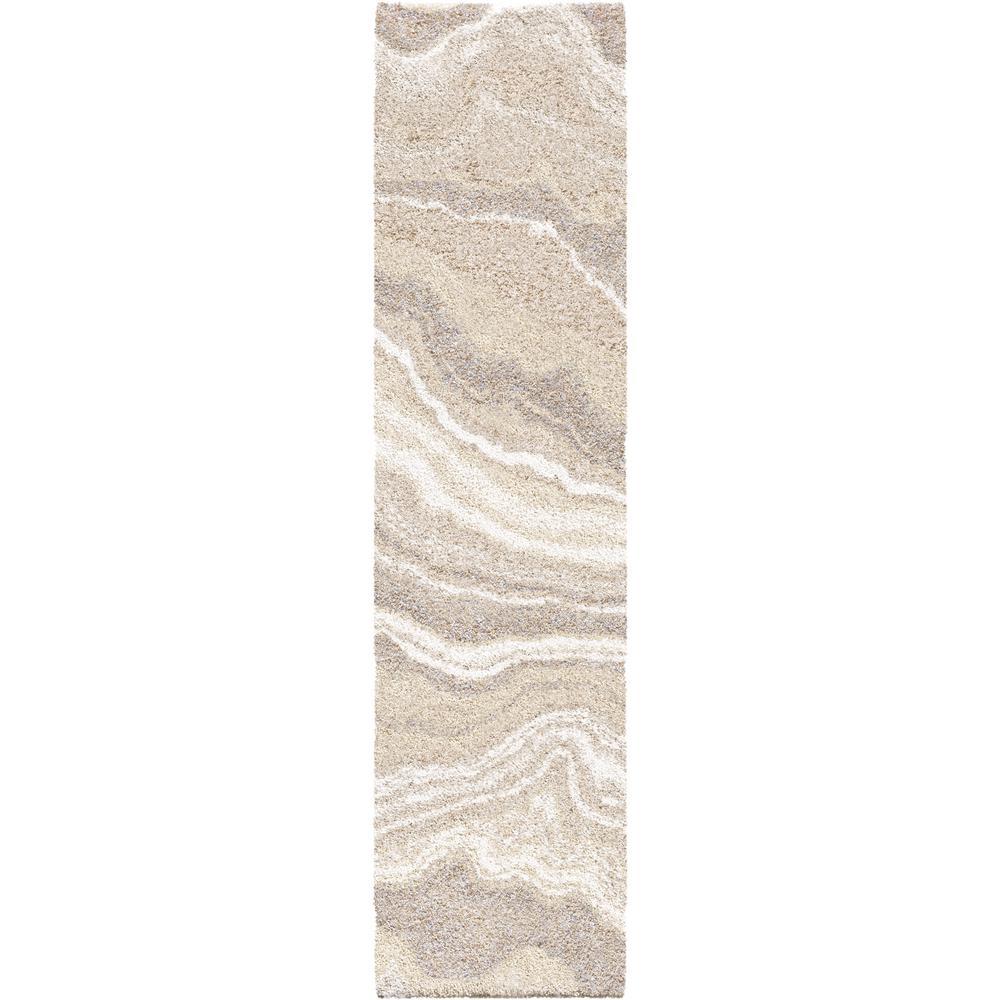 Cascade Ivory 2 ft. x 8 ft. Runner Rug