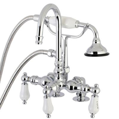 Danco Add A Shower Kit For Claw Foot Tub In Chrome 9d00052406 The